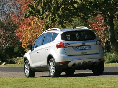 Ford Kuga 2.5 AWD Trend review (4/4)