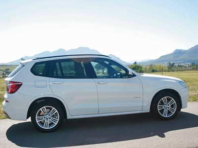 BMW  X3 xDrive 30d 2012 review (4/5)