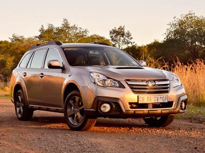 Subaru Outback 2.0D Lineartronic