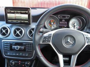 Mercedes-Benz CLA dash
