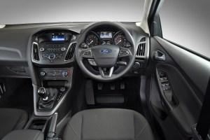 Ford Focus Eco-Boost interior