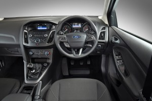 Ford Focus Eco-Boost interior