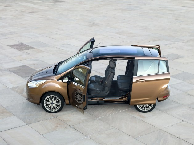 The new Ford B-MAX.