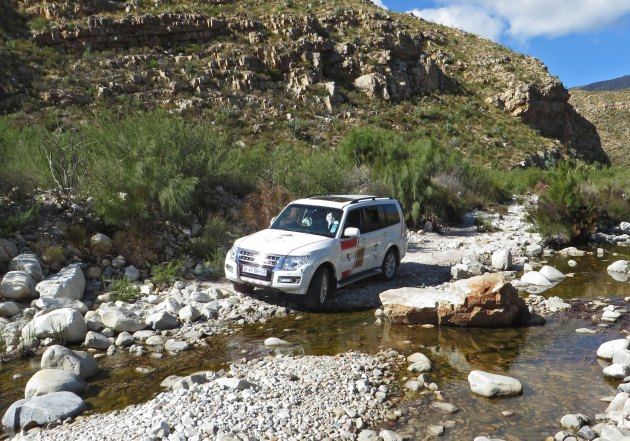 Mitsubishi Pajero LWB in its element