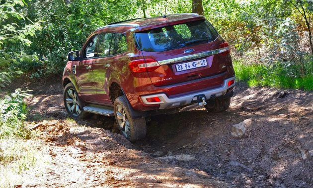 Ford Everest Ltd