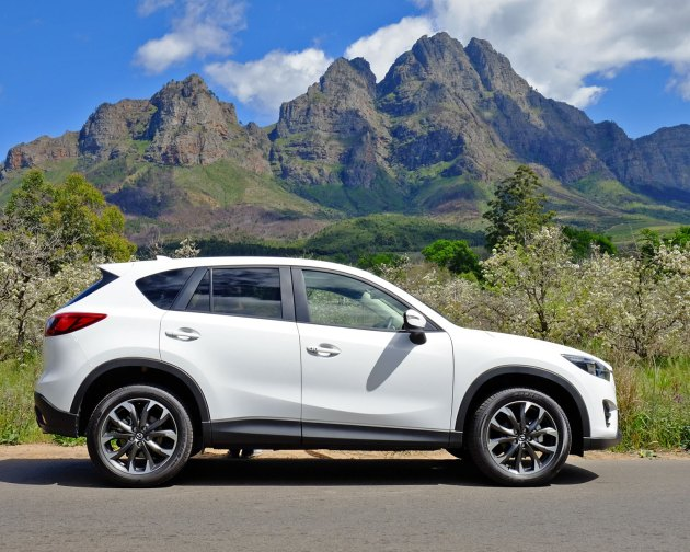 Mazda CX-5 with the Drakenstein